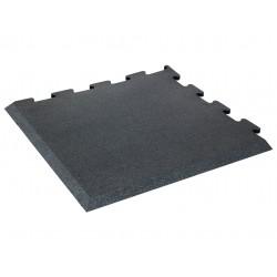 Zámková gumová podlaha SEGURA - roh 100 x 100 x 1 cm