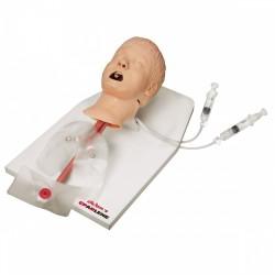 Simulátor výkonů na dýchacích cestách dítěte