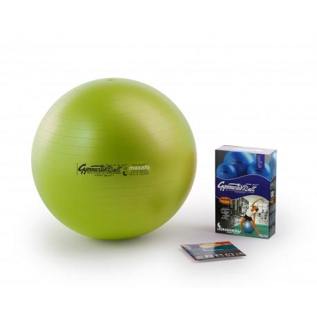 Ledragomma Gymnastik Ball Maxafe - kiwi / ø 42 cm