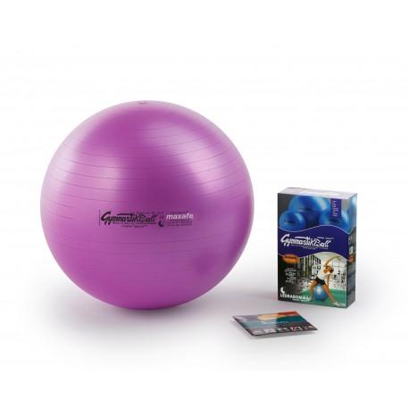 Ledragomma Gymnastik Ball Maxafe - fialová / ø 42 cm