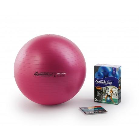 Ledragomma Gymnastik Ball Maxafe - růžová / ø 42 cm