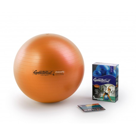 Ledragomma Gymnastik Ball Maxafe - oranžová / ø 42 cm
