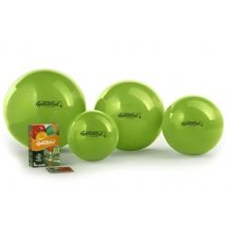 Ledragomma Gymnastik Ball Standard - kiwi / sada