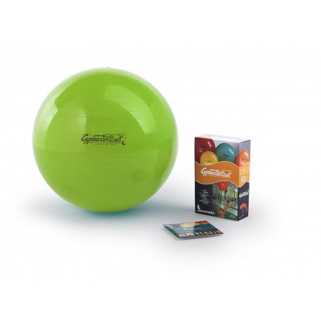 Gymnastik Ball PEZZI Standard - kiwi / ø 42 cm