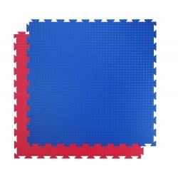 Tatami SportMat Standard 100 x 100 x 2 cm - červeno modrá