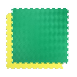 Tatami SportMat Profi 100 x 100 x 2 cm - žluto zelená