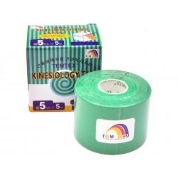 Temtex Kinesio Tape Tourmaline (tejpy) 5m x 5cm / zelená