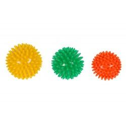 MVS masážní míček ježek - středně tvrdý