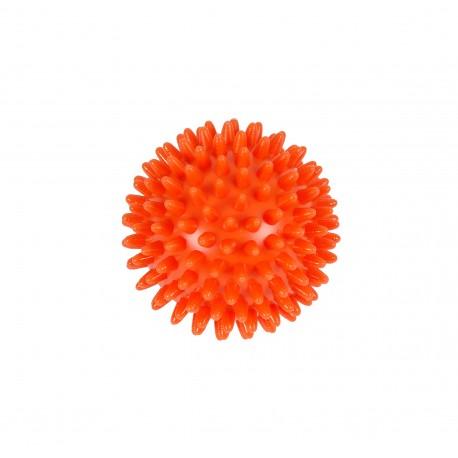 MVS masážní míček ježek - středně tvrdý / ø 5 cm / oranžová