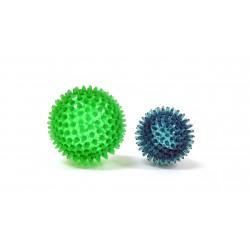 Ledraplastic masážní míček ježek - tvrdý