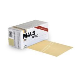 MoVeS Band posilovací guma - balení 5,5 m / béžová / extra slabá