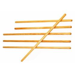 Gymnastická dřevěná tyč - délka 100 cm