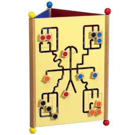 Didaktická věž - tři motivy her
