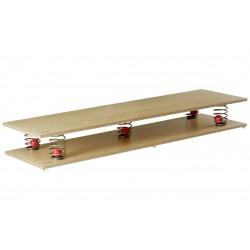 Pružinová balanční plocha 150 x 45 x 21 cm