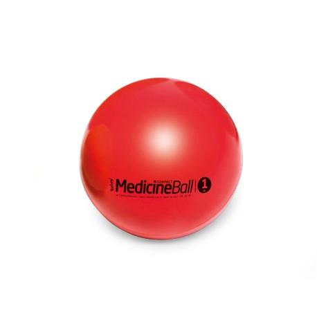 Medicinbal Compact - 1 kg / ø 12 cm / červená