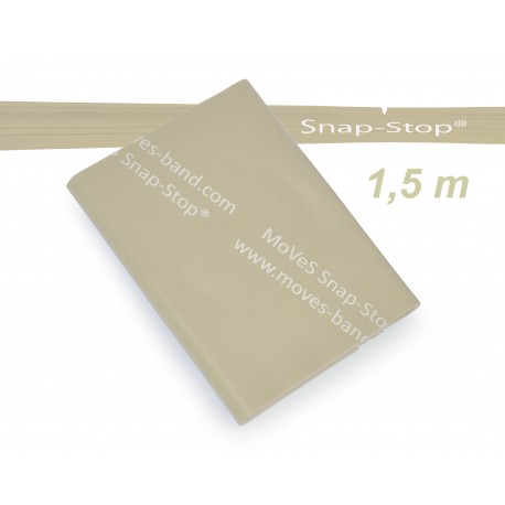 MoVeS-Band posilovací guma - balení 1,5 m / béžová / extra slabá