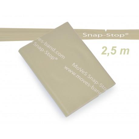 MoVeS-Band posilovací guma - balení 2,5 m / béžová / extra slabá