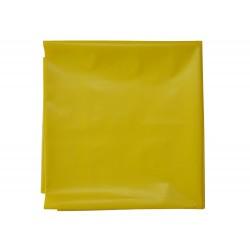 Silné pytle na odpad 70 x 110 cm / síla 100 my / žlutá