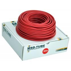 MoVeS Band Tubing posilovací guma - balení 30 m / červená / středně silná