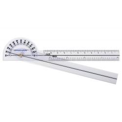 Goniometr plastový 15 cm/180 stupňů - kapesní