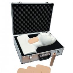 Kufříkový simulátor koniotomie