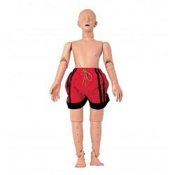 Figurína tonoucího se adolescenta s CPR
