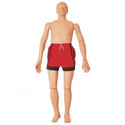 Figurína tonoucího se dospělého člověka s CPR