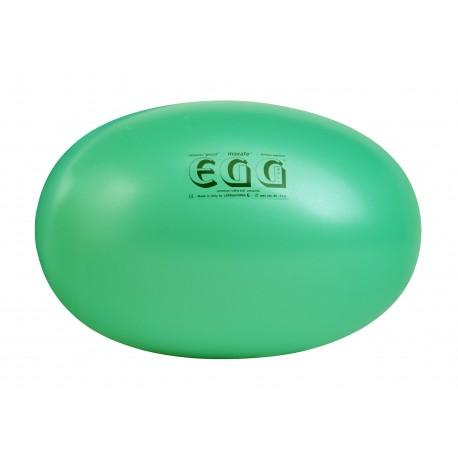 EGG Gymnastik Ball Maxafe - ø 45 x 65 cm / zelená